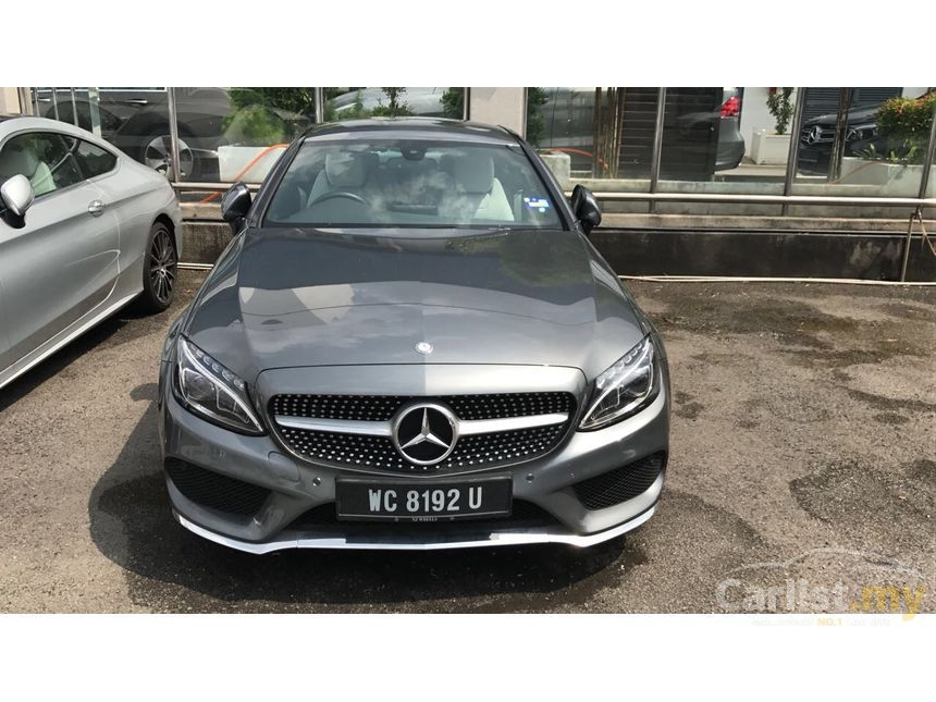 mercedes benz c200 2015 amg 2 0 in selangor automatic coupe grey for rm 268 888 3593515. Black Bedroom Furniture Sets. Home Design Ideas