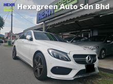 2016 Mercedes-Benz C200 AMG Line - 4 Years Warranty - Mileage 9800km