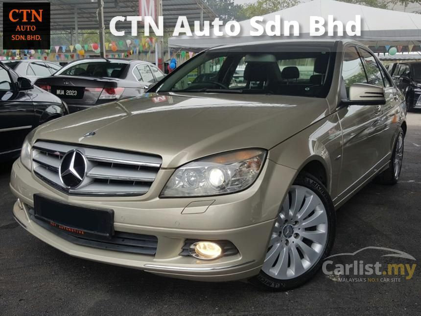 2011 Mercedes-Benz C200 CGI Avantgarde Sedan