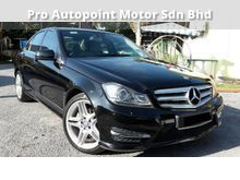 2015 MERC BENZ C200 CGI (A) AMG LINE LOCAL FULL SERVICE RECORD