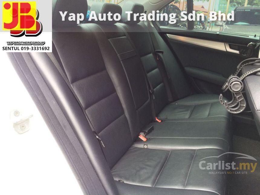 mercedes benz c200 cgi 2013 avantgarde 1 8 in kuala lumpur automatic sedan white for rm 149 800. Black Bedroom Furniture Sets. Home Design Ideas