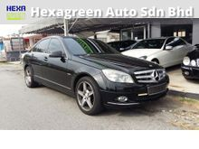 2010 Mercedes-Benz C200 CGI 1.8 Elegance Sedan-Good Condition
