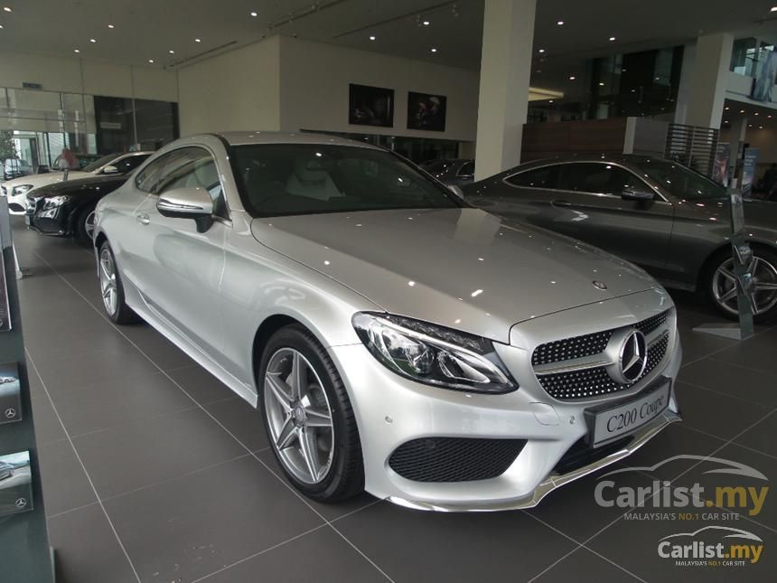 mercedes benz c200 2016 coupe 2 0 in penang automatic coupe silver for rm 265 888 3477913. Black Bedroom Furniture Sets. Home Design Ideas