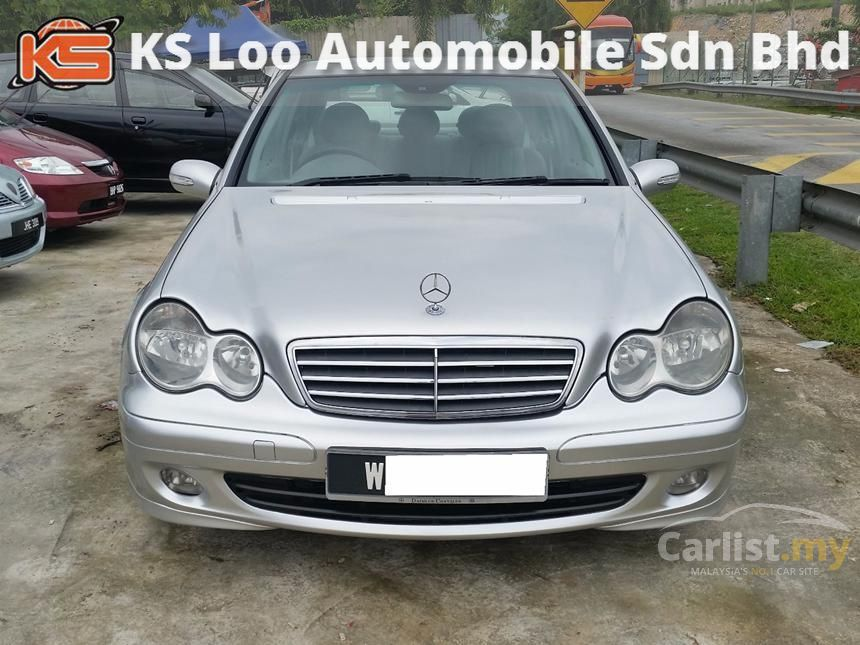 2005 Mercedes-Benz C200K Avantgarde Sedan