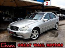 *IMPORT BARU* *AVANTGARDE* Mercedes-Benz C200K 2.0 (A) KOMPRESSOR LUXURY SEDAN HIGHEST SPEC 2002