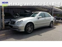2000 Mercedes-Benz C200K 2.0 Elegance Sedan-Good Maintained