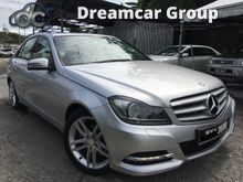 2012 Mercedes-Benz C250 CGI 1.8 Avantgarde Sedan,Full Service record,Full Spec,1 Owner,7gear,No Accident,Like New,King of Car,View to Believe,Call Now