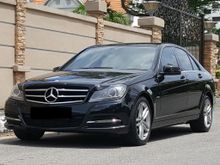 2011 MERCEDES-BENZ C200 CGi (A) W204 LOCAL NEW FACELIFT AVANTGARDE  SUPER HIGH SPEC GPS NAVIGATION