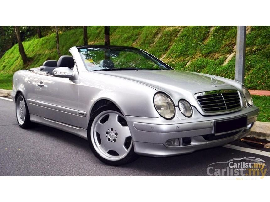 mercedes-benz clk320 2000 3.2 in selangor automatic coupe silver