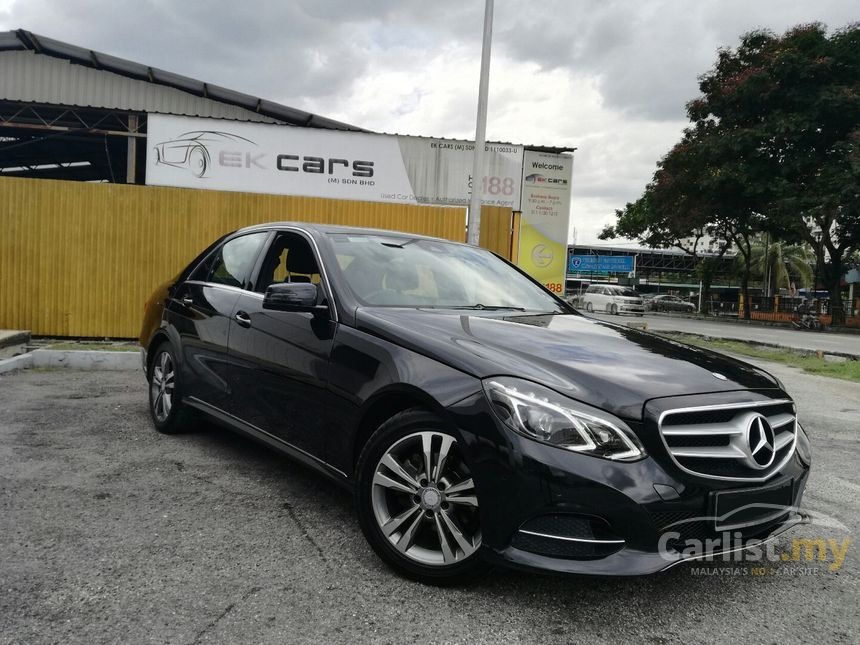 Mercedes benz e200 2014 avantgarde 2 0 in selangor for Mercedes benz e class models