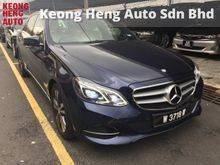 2013 Mercedes-Benz E200 2.0 Avantgarde Registered 2014 Under Warranty