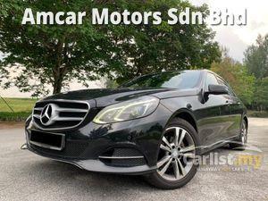 2014 Mercedes-Benz E200 2.0 Avantgarde Sedan FACELIFT MODEL LOW MILEAGE LOCAL CAR