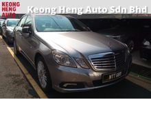 GST INCLUDED True Year Made 2010 Mercedes-Benz E200 CGI 1.8 Local
