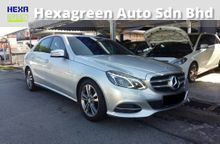 2013 Mercedes-Benz E200 CGI Facelift  - 1 Year Warranty - Mileage 43000KM