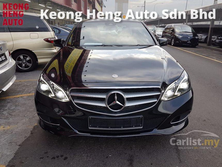 2013 Mercedes-Benz E200 CGI Elegance Sedan