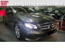 TRUE YEAR MADE 2016 GST FREE Mercedes-Benz E200 2.0 New Edition E Mil Very less 8k km