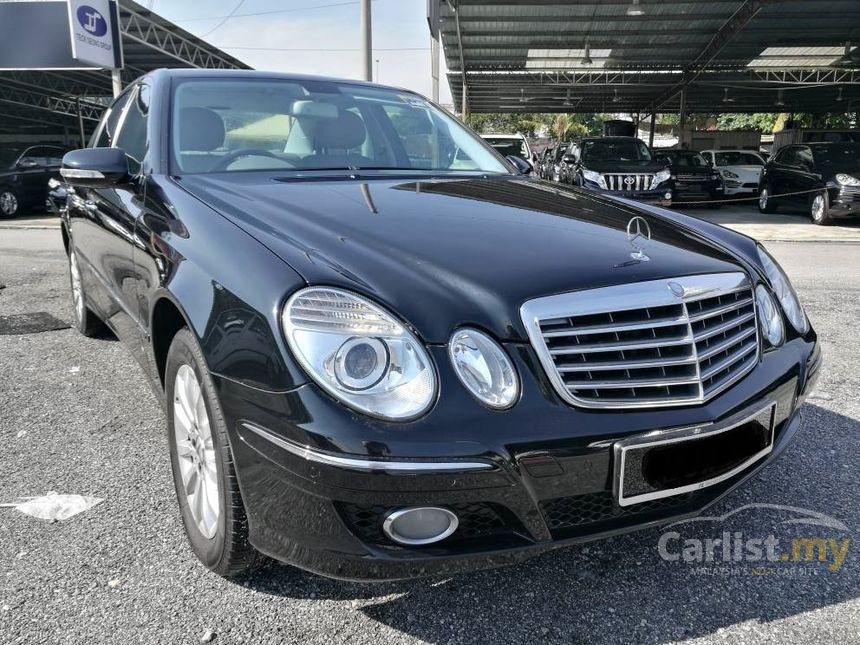 Mercedes benz e200 2008 in kuala lumpur automatic black for Mercedes benz e200 price