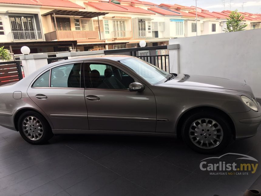 Mercedes benz e200 2003 in johor automatic bronze for rm for Mercedes benz e200 price