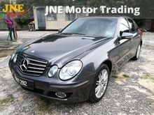 (SAVE RM14K) (1 VIP OWNER) (VIEW TO BELIEVE)(SHOWROOM CONDITION) MERCEDES BENZ E200K AUTO