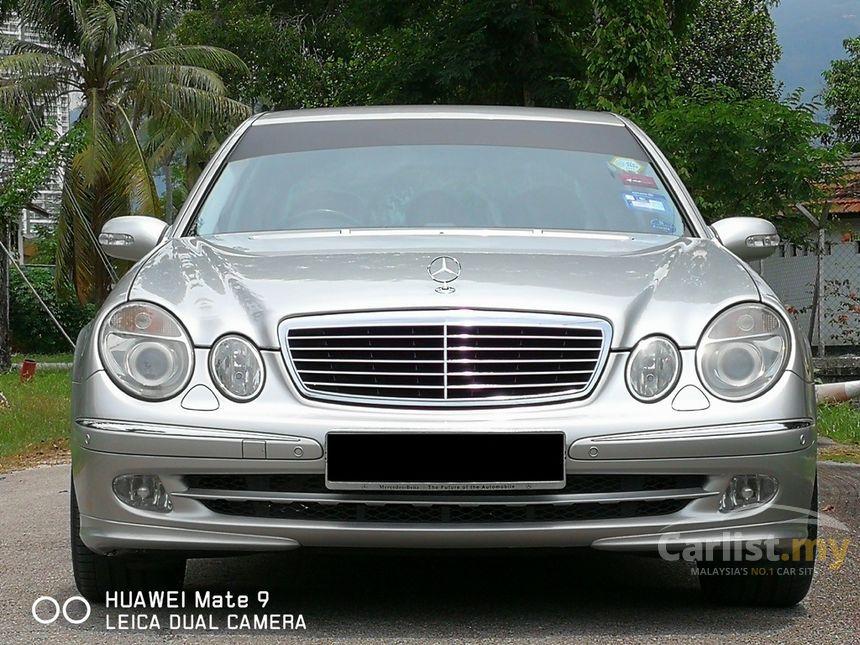 Mercedes benz e200k 2003 avantgarde 1 8 in penang for 2003 mercedes benz e320 specs