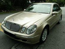 2004 Mercedes-Benz E200K 1.8 Elegance Sedan - LOCAL MODEL , SUPER TIP-TOP