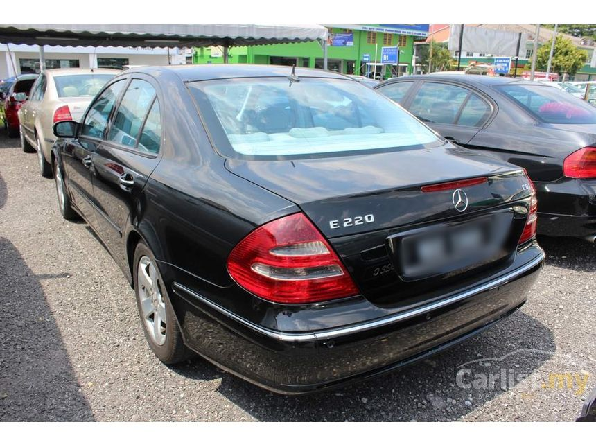 mercedes benz e220 cdi 2003 avantgarde 2 1 in selangor automatic sedan black for rm 36 800. Black Bedroom Furniture Sets. Home Design Ideas