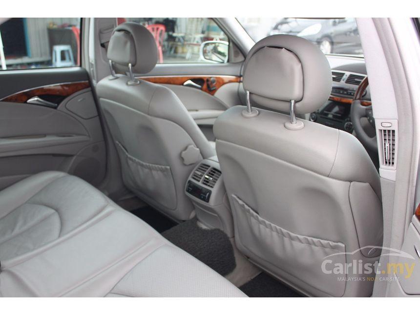 2004 Mercedes-Benz E240 Avantgarde Sedan