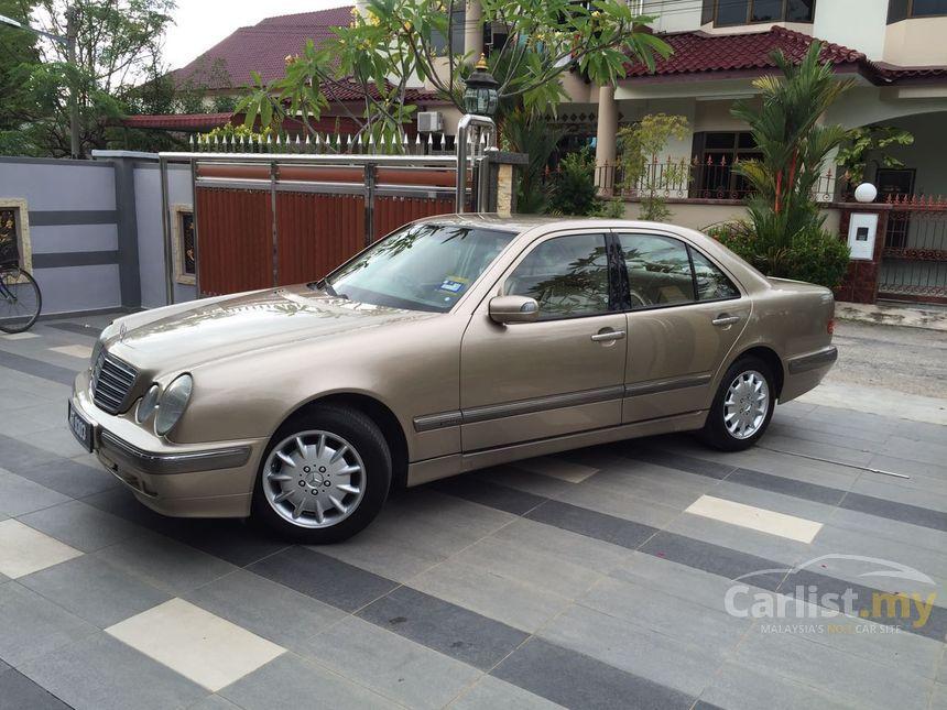 mercedes benz e240 2002 avantgarde 2 6 in johor automatic sedan gold for rm 35 000 3453691. Black Bedroom Furniture Sets. Home Design Ideas