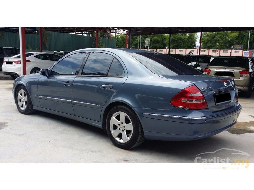 Proton Preve Facelift >> Mercedes-Benz E240 2006 Avantgarde 2.6 in Selangor Automatic Sedan Blue for RM 45,800 - 3846644 ...
