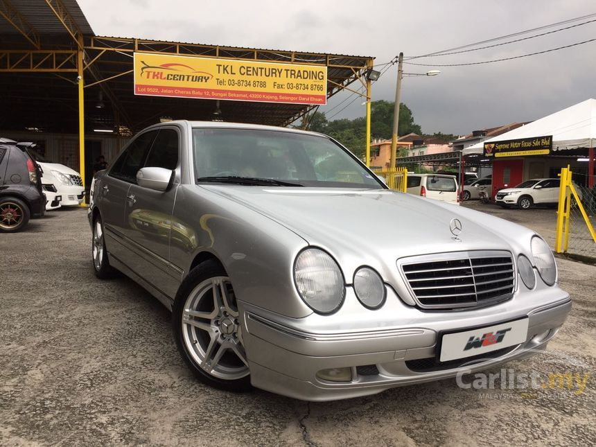 Mercedes benz e240 2002 avantgarde 2 4 in selangor for Mercedes benz auto loan rates