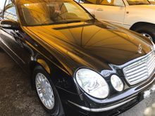 GILA GILA JUAL - 2005 Mercedes-Benz E240 2.6 Elegance Sedan NEW STOCK TIPTOP RUNNING COND, CALL FOR BOOKING AND RESERVE A TEST DRIVE
