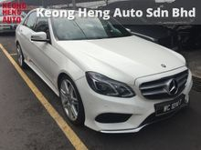 2013 Mercedes-Benz E250 2.0 AMG Reg 2015 Full Spec