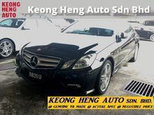 (ACTUAL YR MADE 2O1O)(AMG SPORT)(GST INCLU)(REG 2O13)(LOW MILE)(VERY TIPTOP)(KL CHERAS AREA) MERCEDES BENZ W207 E250 1.8 CGI COUPE
