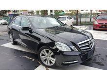 2013 Mercedes-Benz E250 1.8 CGI SE-PAKAGE 7G KEYLESS UNREG
