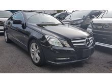 2012 Mercedes-Benz E250 1.8 Coupe 7 Speed Japan Spec Unregister