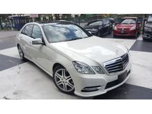 2012 Mercedes-Benz E250 1.8 AMG SPORT FULL SPEC UNREG