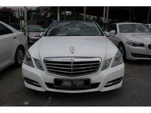 2011 Mercedes-Benz E250 1.8  (a) -- WELL MAINTAIN --