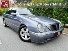 *BEST E270 AT TOWN,NEW FACELIFT 5 SPEED,AVANTGARDE SPEC,VIP OWNER,MEMORY AND LEATHER SEAT**2000 Mercedes-Benz E270 CDI 2.7 Avantgarde Sedan