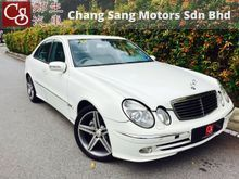 *DISCOUNT RM5K,AMG SPEC,AMG BODYKIT AND RIM WHEEL,LEATHER AND MEMORY SEAT,SIDE AND REAR BLIND*2004 Mercedes-Benz E270 CDI 2.7 Avantgarde Sedan