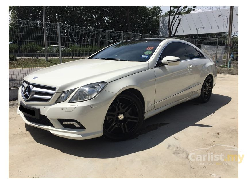 Mercedes Benz E350 2009 Avantgarde 3 5 In Selangor Automatic Coupe White For Rm 139 800
