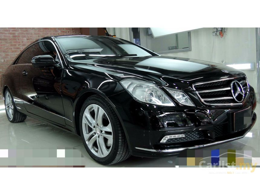 Mercedes benz e350 2010 avantgarde 3 5 in sarawak for Used mercedes benz coupe