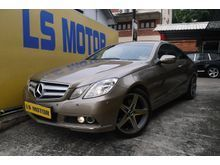 (ORI REG YR 2011)(E350 COUPE AMG MODEL)(FREE 1YEAR WARRANTY)1 DATO OWNER,ACC FREE,FULL SERVICE RECORD,RM 0 D.PAYMENT,FULL LOAN,9YEARS...LIKE NEW