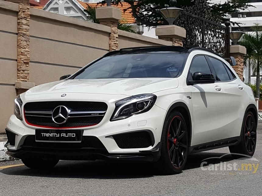 mercedes benz gla45 amg 2015 4matic 2 0 in penang automatic suv white for rm 293 000 2998137. Black Bedroom Furniture Sets. Home Design Ideas