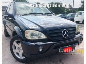 2002 Mercedes-Benz ML500 5.0 (A) SPORT ML55 FULL SPEC SUNROOF AMG LIMITED