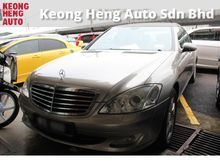 2009 Mercedes-Benz S300L 3.0 (NICE NO 1000) Like Brand New. Accident Free. PRICE CAN NEGO. CALL NOW FOR SPECIAL PRICE