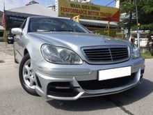 Mercedes-Benz S320L 3.2 (AT)  FULL AMG BODYKIT LOCAL SPEC 2003