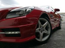 2012 Mercedes-Benz SLK200 1.8 BlueEFFICIENCY Convertible