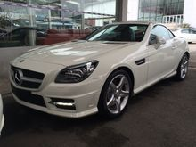 2012 Mercedes-Benz SLK250 1.8 BlueEFFICIENCY Convertible AMG Sport Elec Memory Leather Seat LED Daytime Running Light