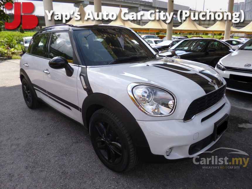 mini countryman 2012 cooper s all4 1 6 in selangor automatic suv white for rm 130 800 3761995. Black Bedroom Furniture Sets. Home Design Ideas