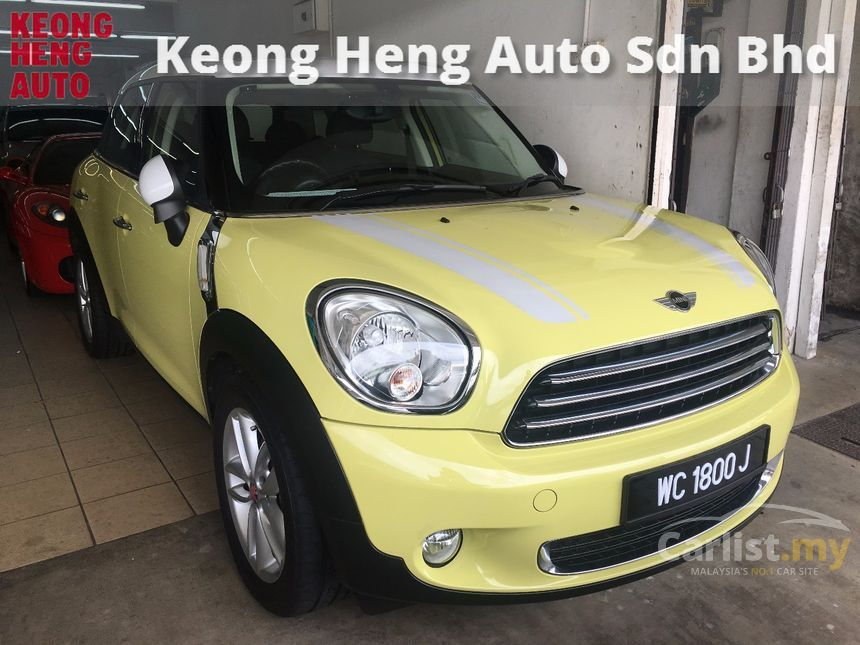 MINI Countryman 2011 Cooper 1.6 in Kuala Lumpur Automatic SUV Yellow